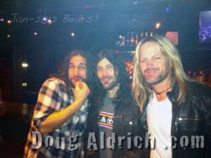 NAMM 2012 Bears (Brian Tichy, Michael Devin, Doug Aldrich)