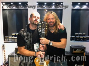 NAMM 2012 Doug Aldrich & Chris George