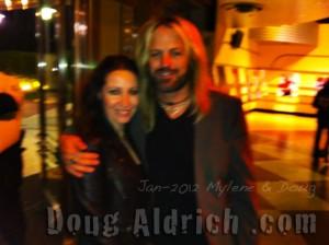 NAMM 2012 Mylene & Doug
