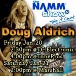 Doug Aldrich NAMM 2012