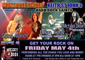 Keith St John's Hard Rock Saints