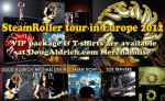 Doug Aldrich: SteamRoller 2012 Merchandise