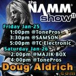 Doug Aldrich NAMM 2013