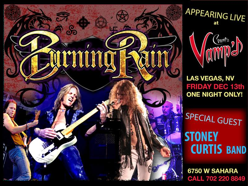 Burning Rain at Vampd Vegas in Las Vegas