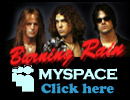 Burning Rain Official MySpace