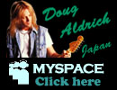 Doug Aldrich Japan MySpace